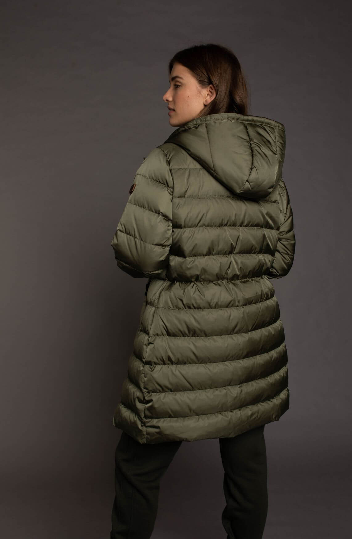 Moscow Dames Coat Abigail Groen