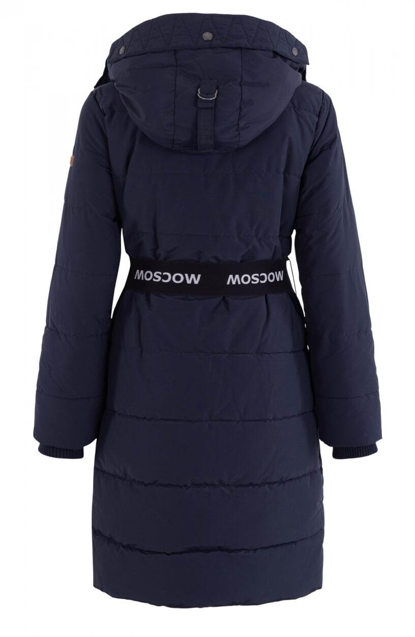 Moscow Dames Coat Maya Blauw