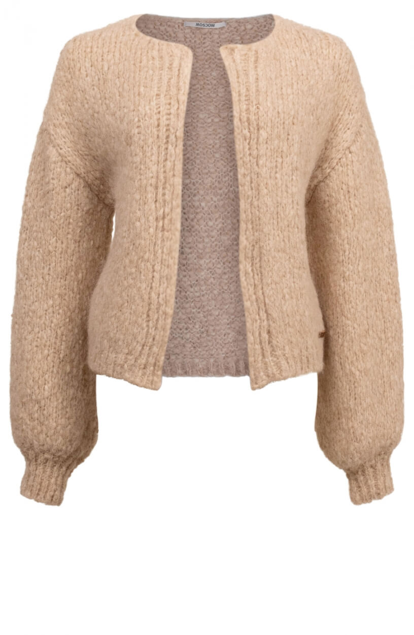 Moscow Dames Cardigan Ethany Bruin