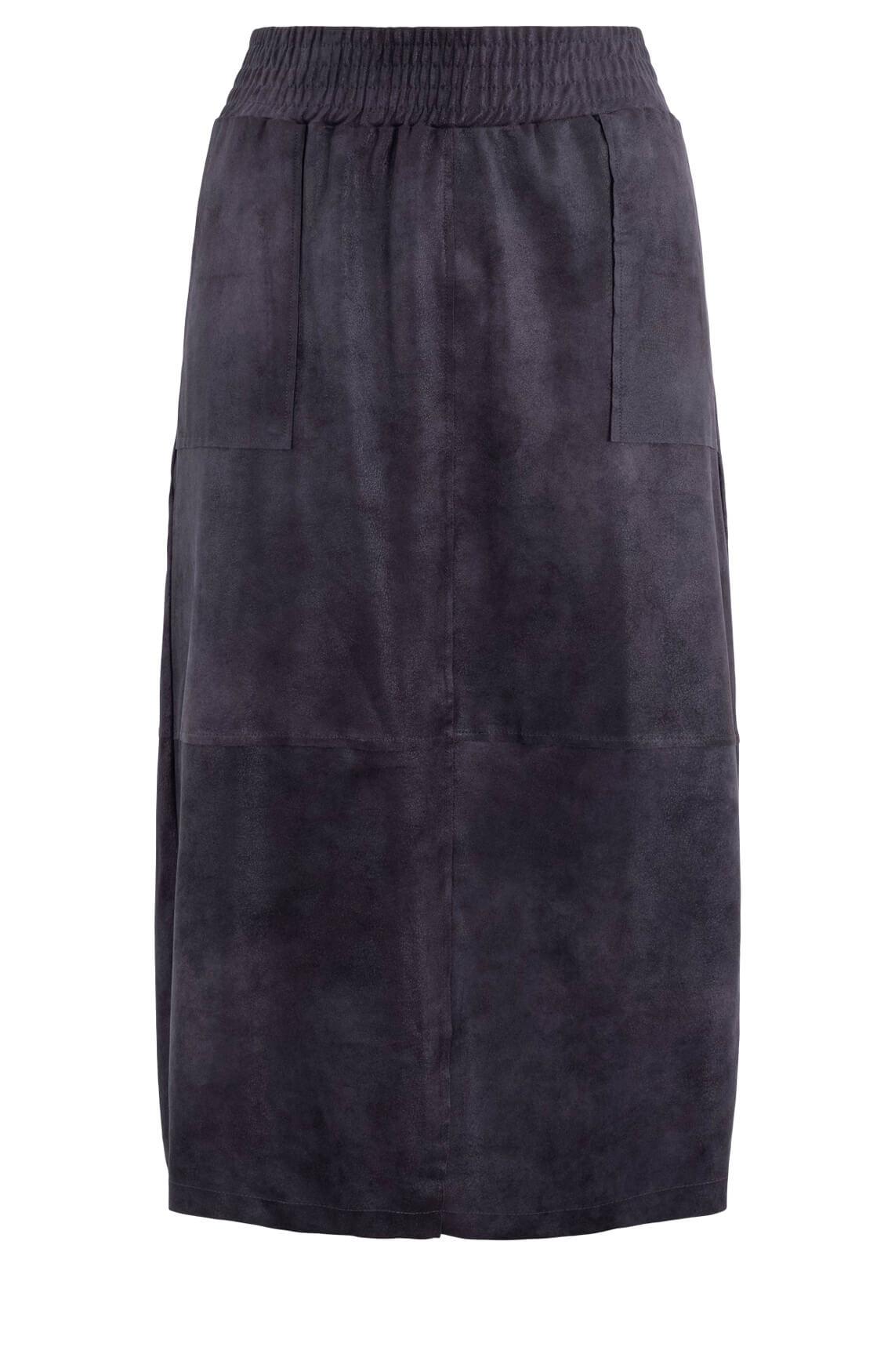 Moscow Dames Skirt Beeate Grijs